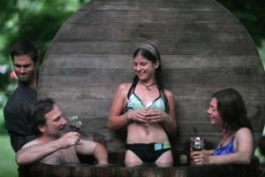 What the Heck is a Snorkel Hot Tub and What is it doing at this Bed and Breakfast in Ithaca NY? 7