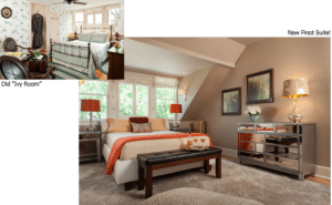 Gothic Eves Room Highlight: The Updated Pinot Suite 5