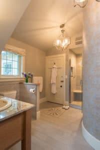 Updated Merlot Suite Bath