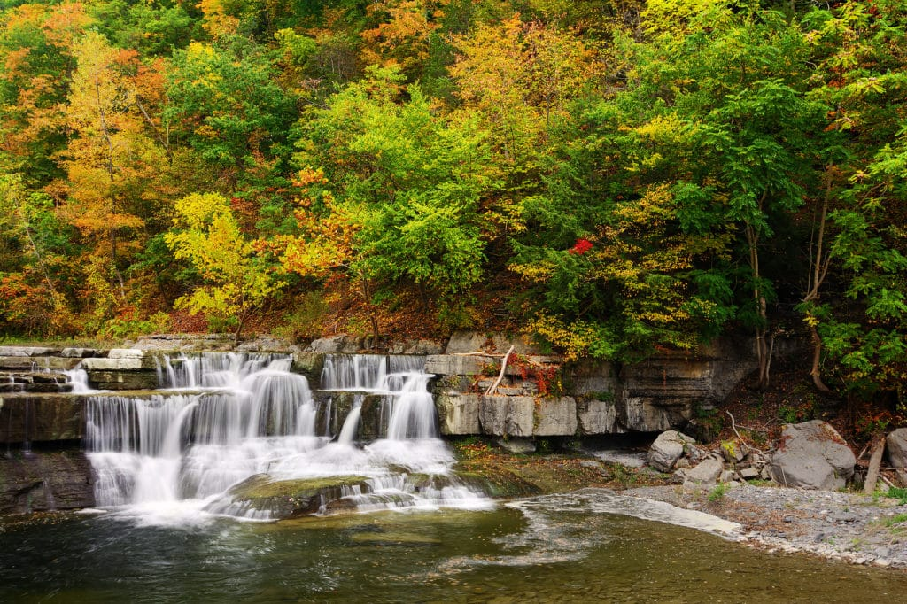 Visit Taughannock Falls State Park This Fall