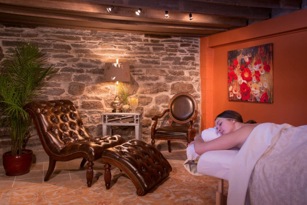 Relax in our spa with a massage