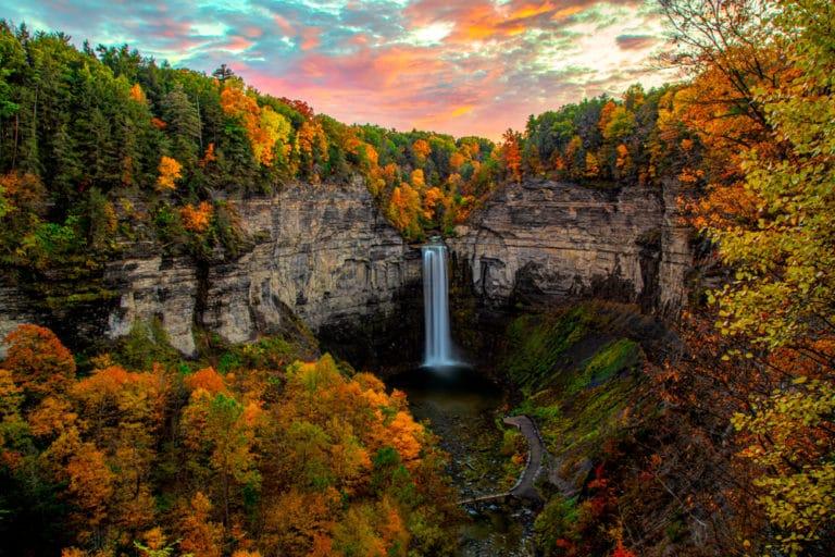 Finger Lakes Fall Foliage